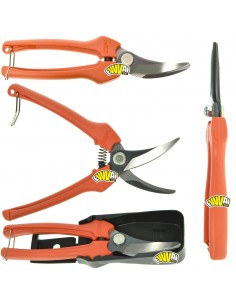190 MM P123 GRAPE GRAPE HARVEST GRAPEVINE PICKING and TRIMMING SNIPS SHEARS SCISSORS BAHCO PRADINES
