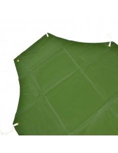 75 X 110 GREMBIULE VERDE IN PVC ANTISTRAPPO IMPERMEABILE VENDEMMIA RACCOLTA UVA