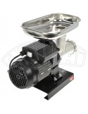 N. 12 - 500 W MEAT GRINDER CAST IRON HOUSEHOLD 0.40 HP WITH 2 FUNNELS LOADERS REBER
