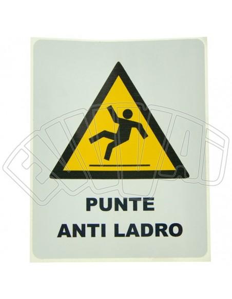 KIT PUNTE ANTILADRO PER GRONDAIE - BARRE CON SPUNTONI ANTINTRUSIONE ANTIFURTO