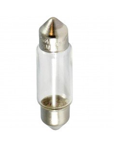 12V - 5W - SV8.5-8 - C5W LAMPADA RICAMBIO SILURO 11X39 LAMPADINA LUCE TRATTORE