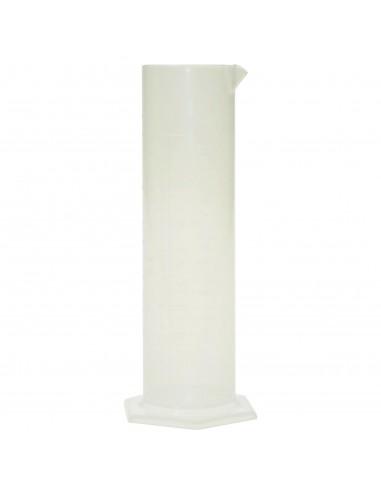 MESURE cylindre 500 CC en MOPLEN DOUBLE GRADUATION pour oenologie bière vin