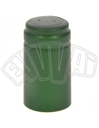 VERDI - 31 X 55 MM - CAPSULE TERMORETRAIBILI - 100 PZ PER TAPPI BOTTIGLIE VINO