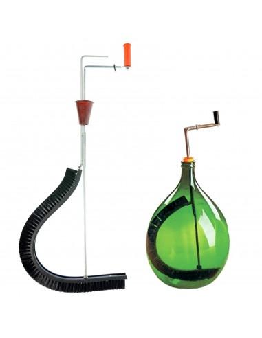 Spazzola lavadamigiane flessibile lava damigiana per vino for Attrezzo per pulire le persiane
