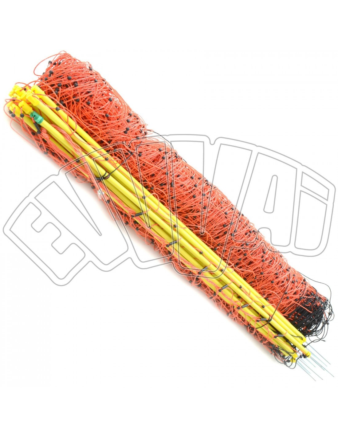 50 mt x 108 cm rete per ovini elettrificabile recinzione for Altezza recinzione per cani