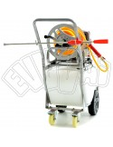 WHEELBARROW KIT NITRO MOUNTED SPRAYING 50 LT-4 STROKE-ELECTRIC PUMP FOR SPRAYING WEED CONTROL