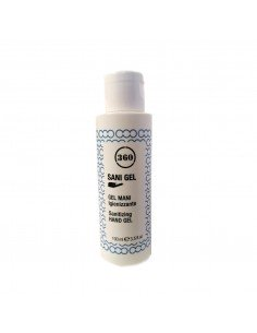 100 ML - GEL MANI IGIENIZZANTE SANI GEL - MADE IN ITALY