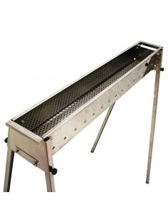 TECNOROAST OLD 100 CANALINA ARROSTICINI BARBECUE CARBONE SPIEDINI BBQ