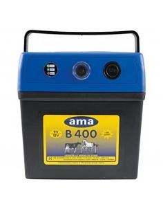 RANCH AMA 4KM 0,4J ELETTRIFICATORE A BATTERIA B400 PER RECINTO ELETTRICO