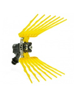 AIR YELLOW PNEUMATIC PROFESSIONAL HARVESTER ULTRA LIGHTWEIGHT OLIVE HARVEST