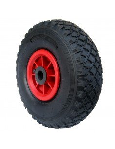 EJE de rueda neumática NYLON 260 X 85 para 20 MM agujero carro