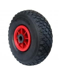 PNEUMATIQUE roue NYLON 260 X 85 HUB pour 20 MM trou CART