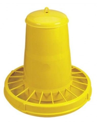 HOPPER FEEDING WITH CAP 20 LITERS FOR HEN, CHICKEN, POULTRY, CHICKS - NOVITAL