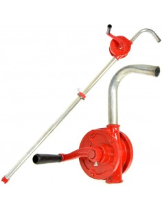 TRANSFER PUMP BIN ROTATE 50 MM LIQUID OIL BARREL PUMP MANUAL WITH CRANK