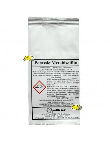 100 GR - METABISOLFITO DI POTASSIO...