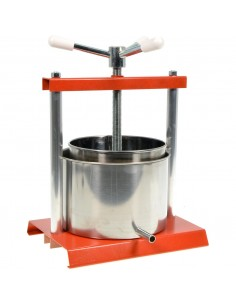 3 LT MANUAL PRESS 14 CM STAINLESS STEEL JUICER