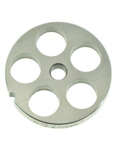 20 MM HOLES - PLATE FOR MINCER TC 12 - STEEL BLADE REBER
