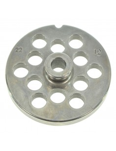 12 MM HOLES - PLATE FOR MINCER TC 22 - STEEL BLADE REBER