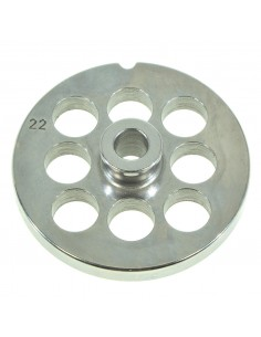 20 MM HOLES - PLATE FOR MINCER TC 22 - STEEL BLADE REBER