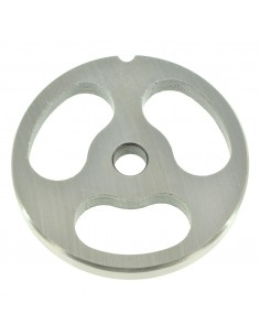 LOZENGE HOLES - PLATE FOR MINCER TC 22 - STEEL BLADE REBER