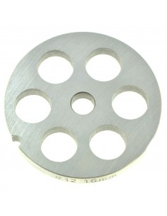 16 MM HOLES - PLATE FOR MINCER TC 12 - STEEL BLADE REBER