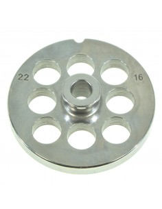 16 MM HOLES - PLATE FOR MINCER TC 22 - STEEL BLADE REBER