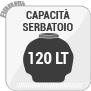 Capacità Serbatoio 120 LT