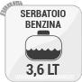 Serbatoio Benzina 3,6 LT