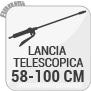 Lancia telescopica 58-100 cm