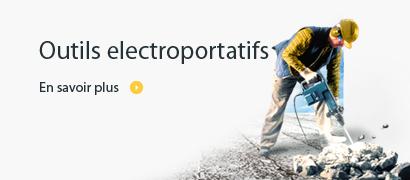 Outils electroportatifs